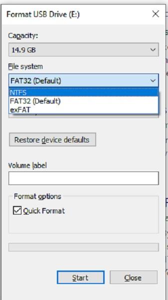 Cara Membuat Ntfs Format Drive Pemulihan Windows 10