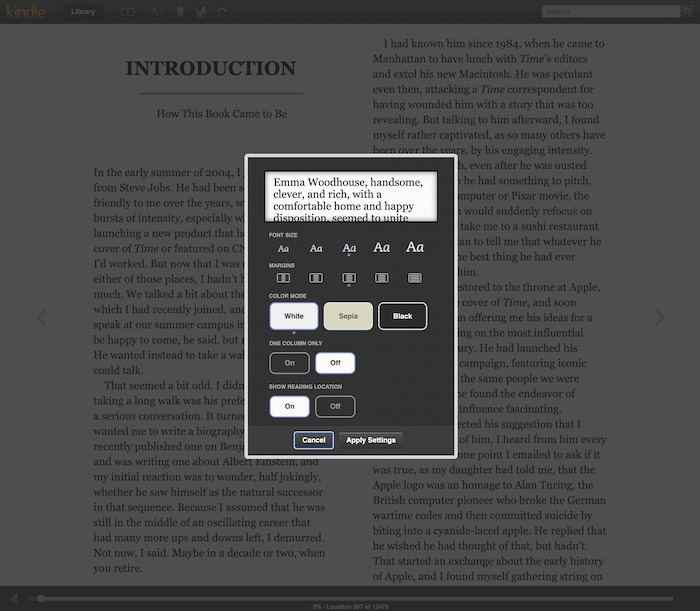 Manfaat Kindle Cloud Reader