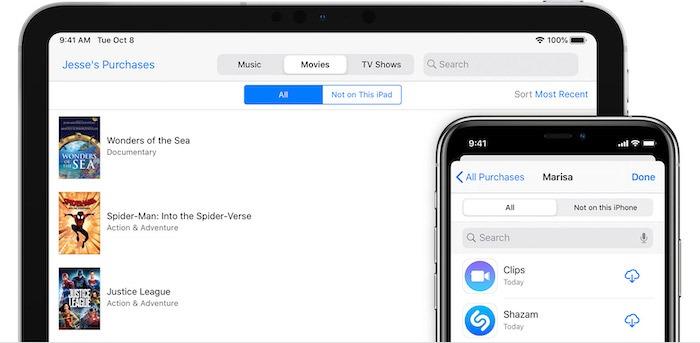 Atur Apple Family Sharing Menemukan Pembelian Ios