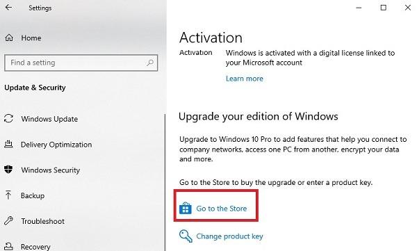 Beralih Dari Windows 10 S Ke Windows 10 Home Upgrade
