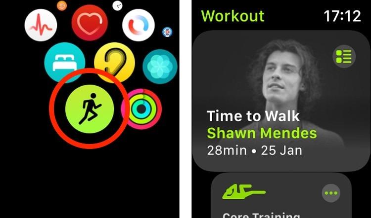 حان وقت المشي لتطبيق Apple Watch Workout