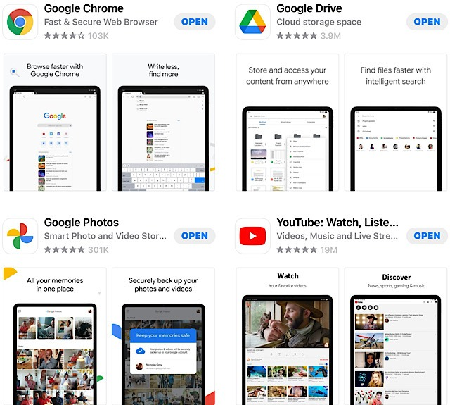 Apple Gmail Data Apps