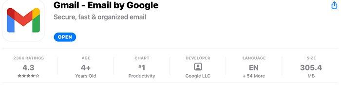 Apple Gmail Data Download