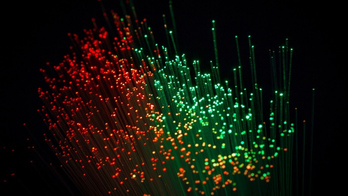 أفضل 4K خلفيات ويندوز 10 ضوء الجسيمات
