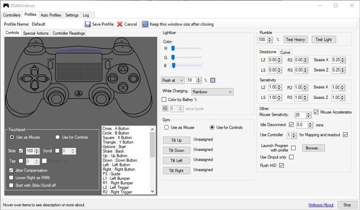 Kết nối Bộ điều khiển Ps4 Windows Ds4windows 1