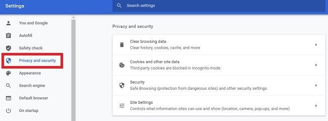 كيفية نسخ نص من موقع محظور في خصوصية Chrome