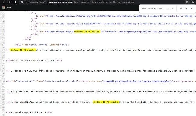 كيفية نسخ نص من موقع محظور في بحث Chrome