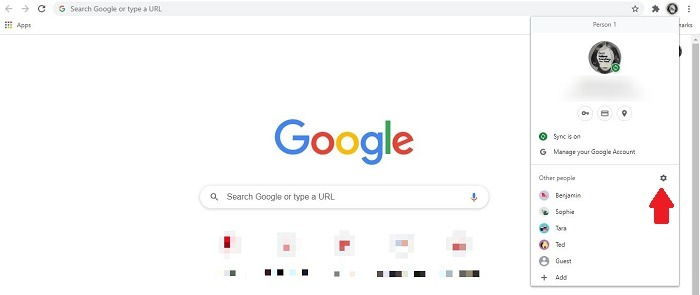 كيفية إنشاء ملفات تعريف مستخدم جديدة إعدادات ملف تعريف Firefox Chrome