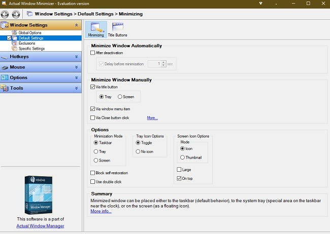 How To Send Windows 10 Programs To The System Tray Actual Window Minimizer