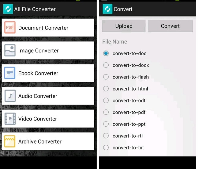 5 File Conversion Apps For Android All