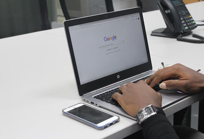 محرك البحث الشجاع جوجل