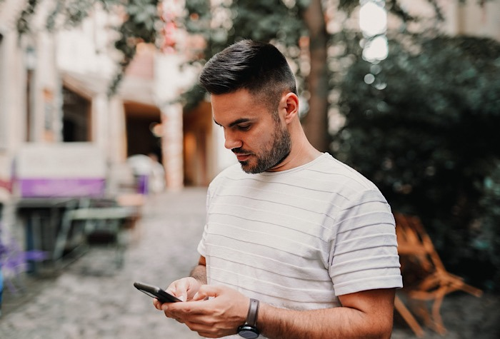 Sms Messages Redirected Man