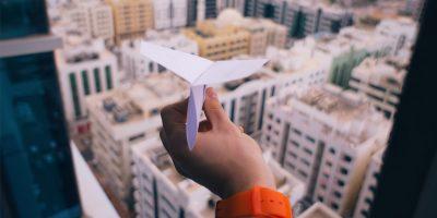 Paper Plane Telegram