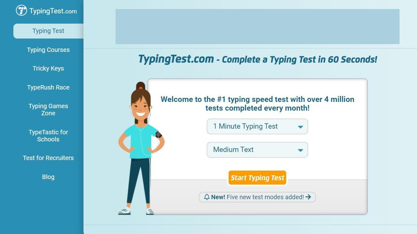 Typing Test Typing Game