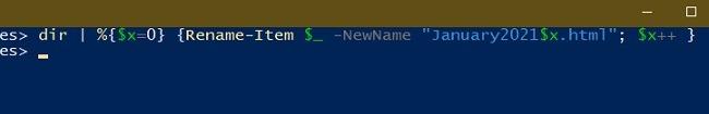 विंडोज एक्सप्लोरर पॉवर्सशेल का नाम बदलने के लिए बैच फ़ाइलों का नाम बदलने के 3 तरीके