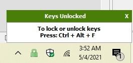 विंडोज 10 कीबोर्ड में अनलॉक करने के लिए 4 त्वरित तरीके अनलॉक