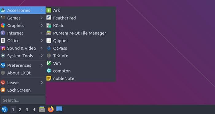 Lubuntu 20 10 Mte Review ملحقات البرامج