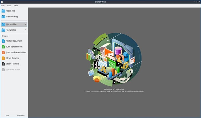 Lubuntu 20 10 Mte Review Software Libreoffice