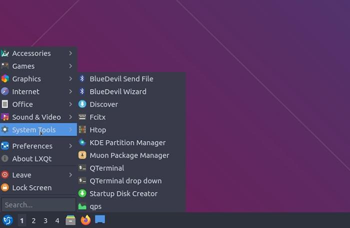 Lubuntu 20 10 Mte مراجعة أدوات نظام البرمجيات