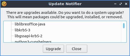 منبه تحديث مراجعة Lubuntu 20 10 Mte
