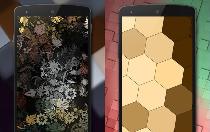 أفضل تطبيقات مبدل للجدران Android Tapet