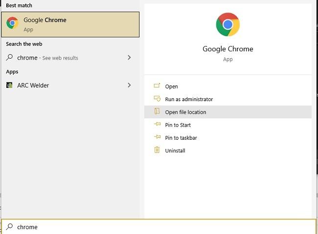 كيفية تمكين تعطيل موقع ميزة معاينة الطباعة في Google Chrome
