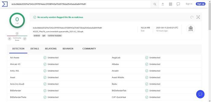 How To Scan Apk Files For Virus Virustotal