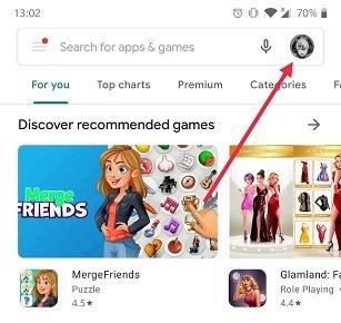 Google खाता Android Play Store खाता स्विच प्रोफ़ाइल Pic कैसे स्विच करें