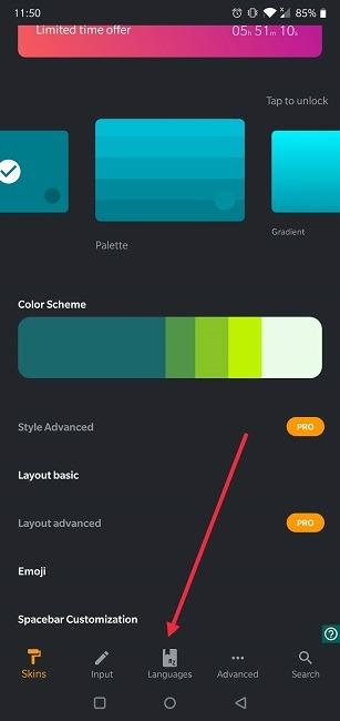 كيفية إيقاف تشغيل التصحيح التلقائي للغات Android Chrooma
