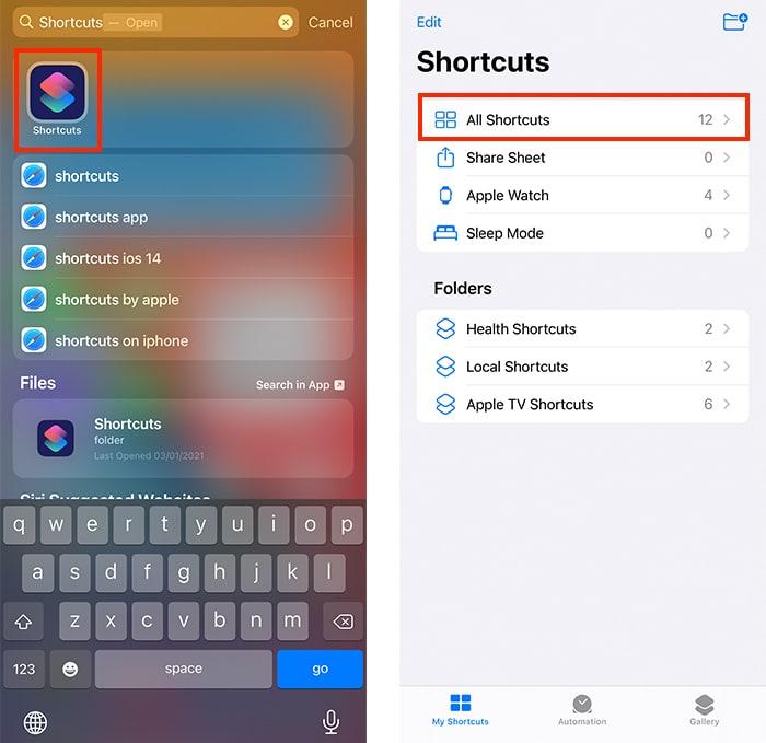 सिरी शॉर्टकट ऐप्पल वॉच Iphone ऐप