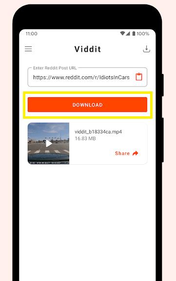 تطبيق Viddit