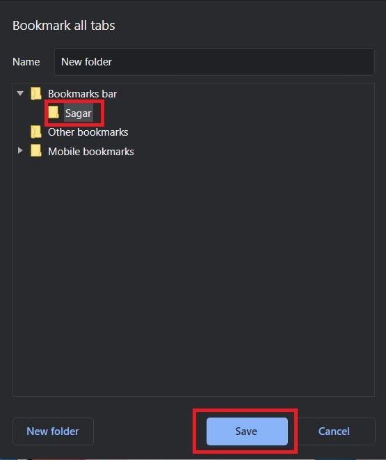 Copy Urls Of All Tabs Chrome Bookmark Folder