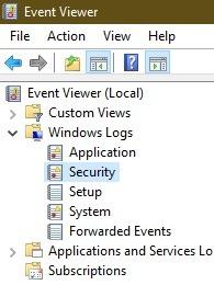 كيفية معرفة ما إذا كان شخص آخر يقوم بتسجيل الدخول إلى أمان الكمبيوتر الشخصي الذي يعمل بنظام Windows