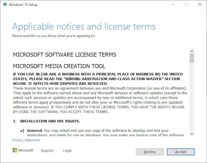 Install Windows 10 2021 Step 2