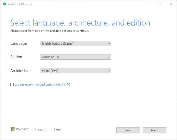 Install Windows 10 2021 Step 3