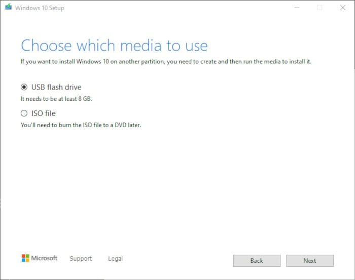 Install Windows 10 2021 Step 4