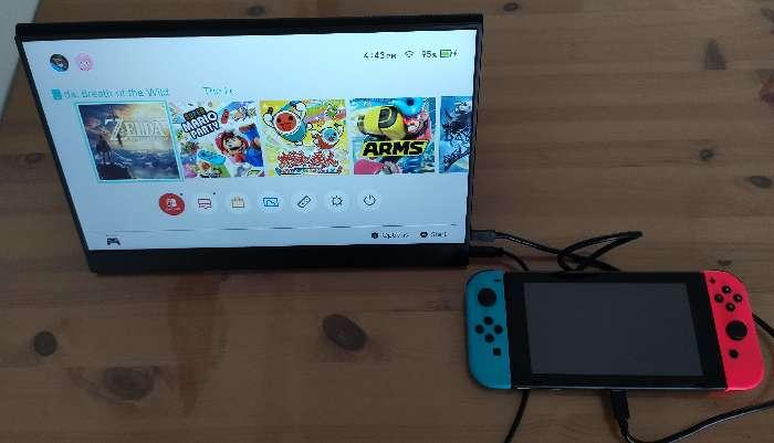 Vissles Monitor Connectez le commutateur Nintendo