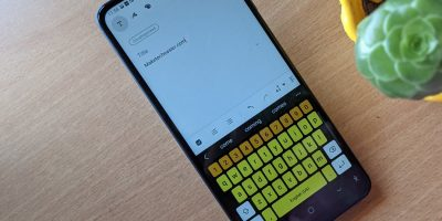 Samsung Keyboard Yellow Key Theme