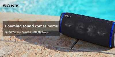 Sony Extra Bass Speaker Featured
