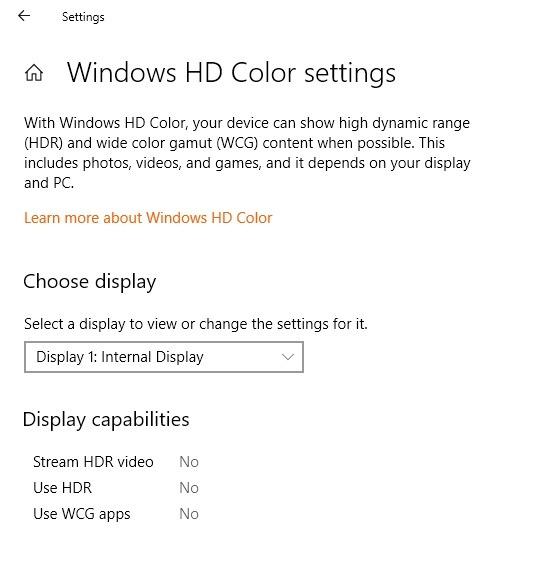Windows11 Compatibility Hdr