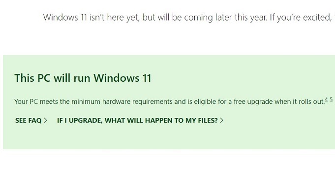 Windows11 Compatibility Online Will Run