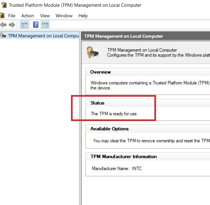 Windows11 Compatibility Tpm Ready To Use