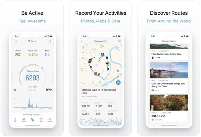 أفضل تطبيقات عداد الخطى والخطوة Iphone Pacer