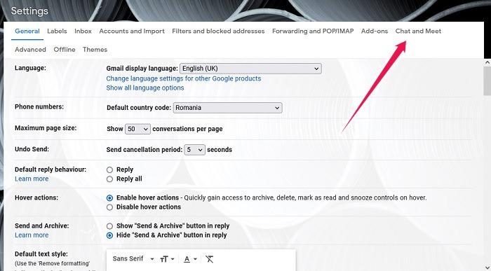 كيفية تنشيط خيار غرف الدردشة على سطح المكتب Gmail دردشة جوجل