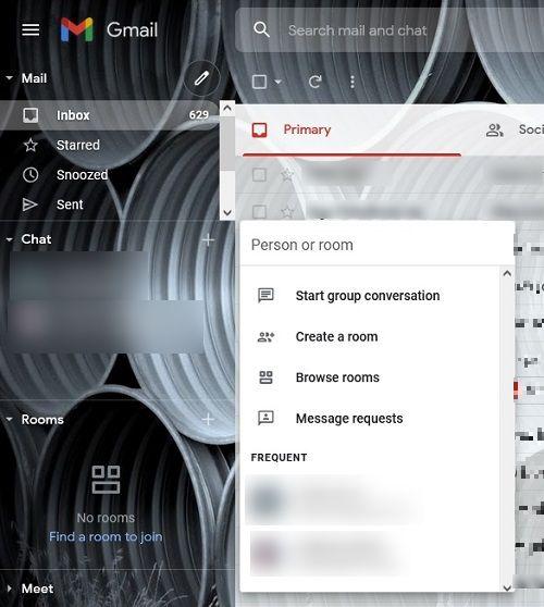 كيفية تنشيط دردشة Google Gmail سطح المكتب خيارات الدردشة الجديدة