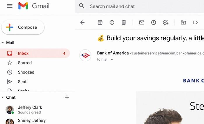 بريد Gmail Bimi