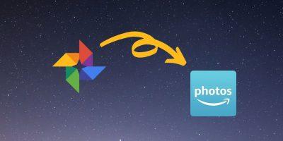 Move Google Photos To Amazon Photos