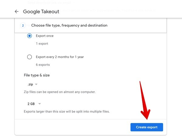 انقل صور Google إلى Amazon Photos Export