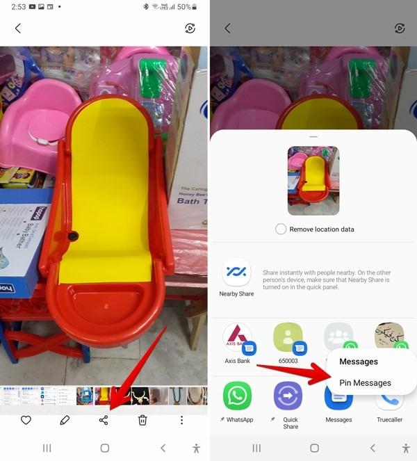 تطبيقات Samsung One Ui 3 Pin