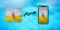 How to Turn a Picture into Wallpaper on Android (And Make It Fit)